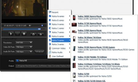 Nokia Video Converter Factory