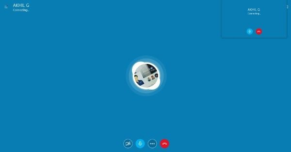 Making Video Call on Skype