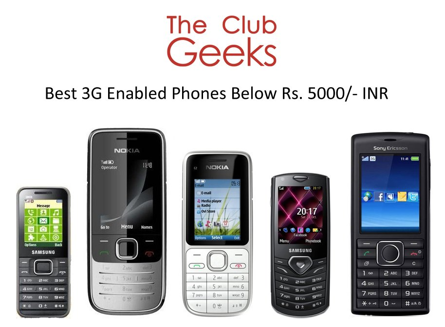 best 3g economical phones