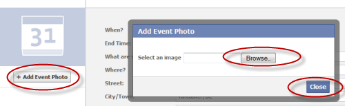 how to add an admin to a facebook event