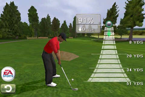 Tiger Wood PGA for iPhone