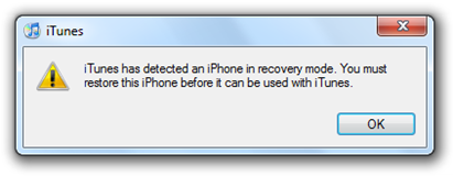 how to take ipad out of recovery mode without itunes