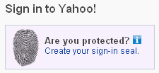 Sign in seal Yahoo Login