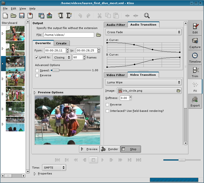 Top 5 Linux Video Editing Free Download Software