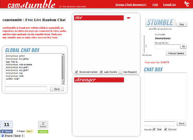 Camstumble best video chat app with strangers