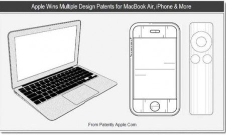 Apple Patents Design of the MacBook Air
