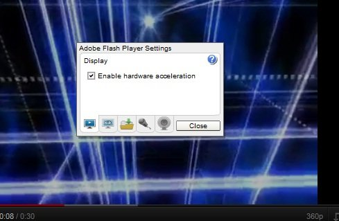 reduce buffering of flash player