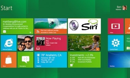 Windows 8 with Siri
