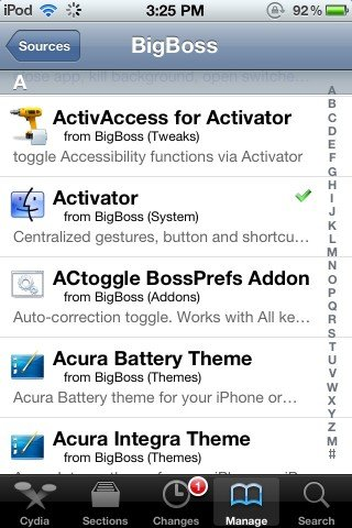 Activator Screenshot 1