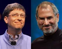 Steve Jobs and Bill Gate