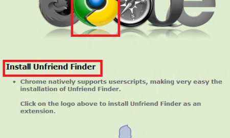 Download and Install Friend Finder option