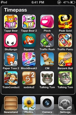 rename Games and Apps on your iPhone