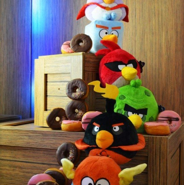 Angry Birds Space Toys