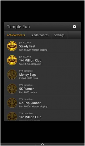 Game Circle - Achievements