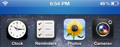 Improve your iOS 5 banner notification using CoverMeNot