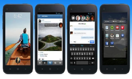 From Left to right: Cover Feeds, Home Interface, Chat Heads and App Launcher