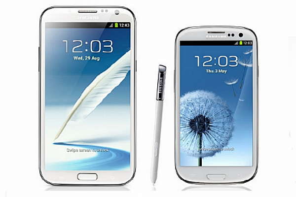 GNote 2 vs Galaxy s3