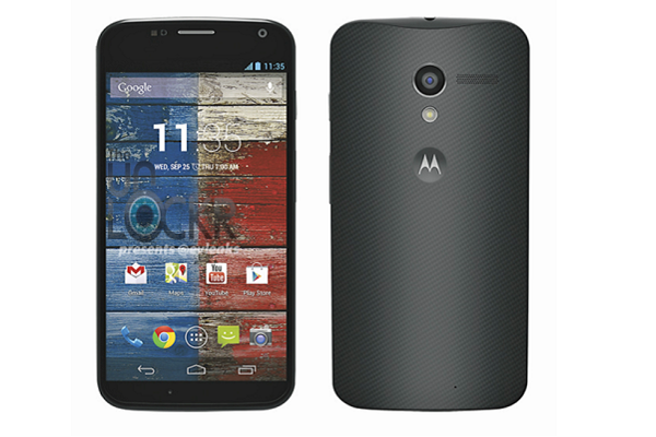 Moto X press shot