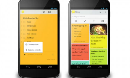 Google Keep updated