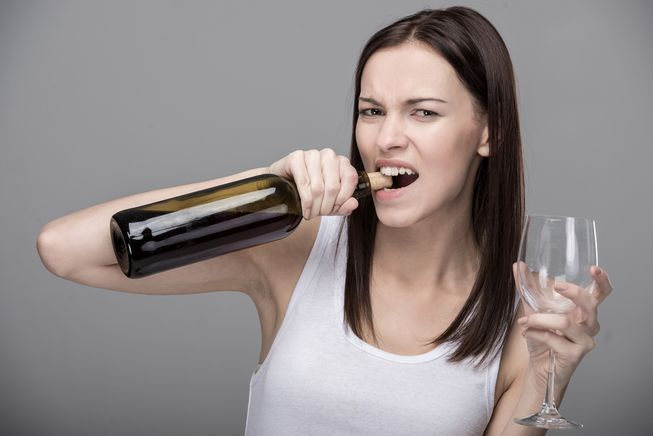 Open a Wine Bottle without a Corkscrew