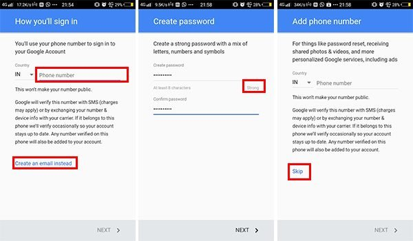 Choose Strong Password for Google Account