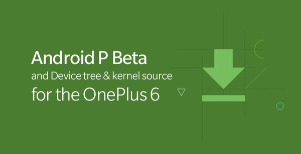 Android P Beta on OnePlus 6