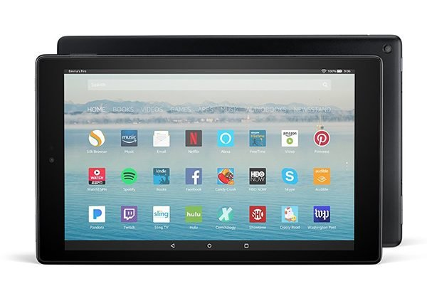 Amazon Fire HD 10 Brand Tablets with Corning Gorilla Glass Display