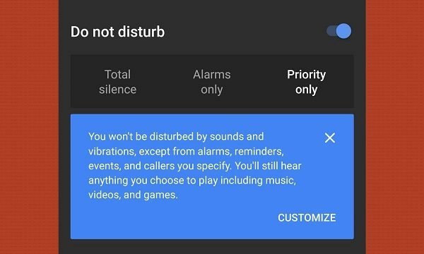 How to use Do not disturb feature in Android Oreo