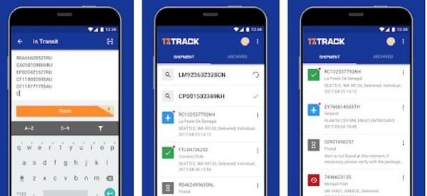 17Track Package Tracker
