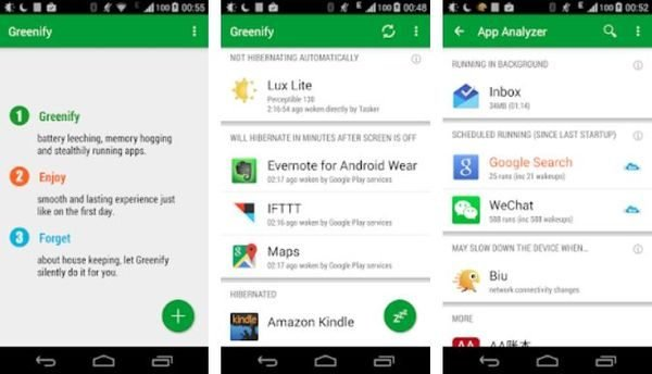 Greenify File Manager Top Ten Android Apps
