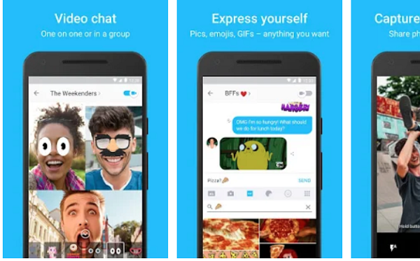 Kik messenger video chat