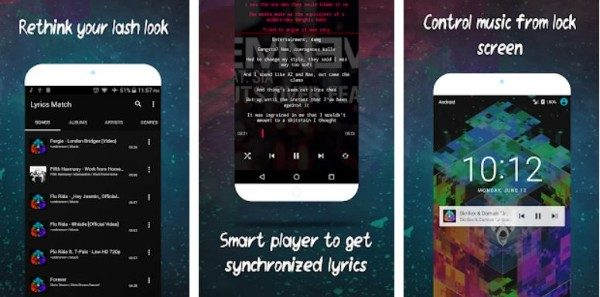 Lyrics Match Music Player for Android