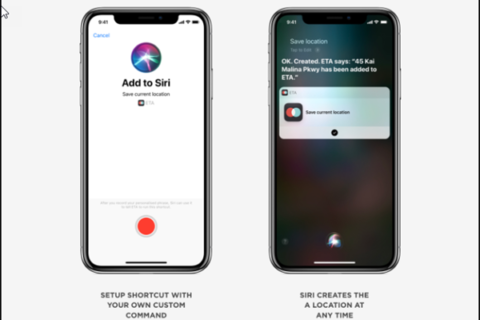 Third-Party Apps using Siri Shortcuts