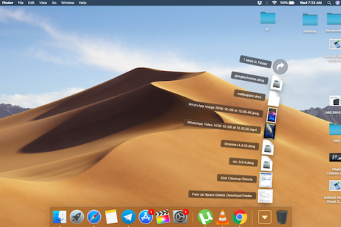 How to customise Folders on the Dock in macOS