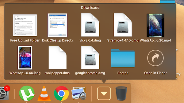 Gridview Style for folders in MacOS