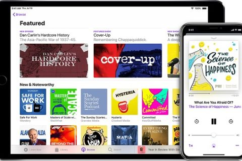 Jump to a specific part of a Podcast in iPhone and iPad
