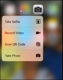 QR Code Scanner in iPhone with iOS 12