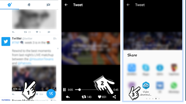 Twitter videos-Download-from-app