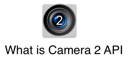 What is Camera2 API