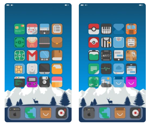 Mint 3 Theme for iOS