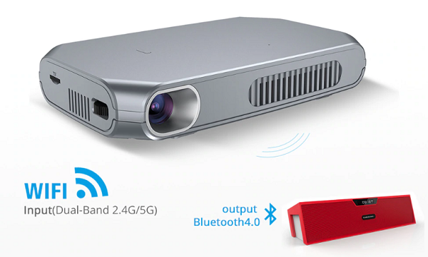 projector with built in streaming